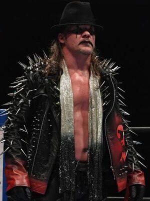 Chris Jericho AEW Leather Jacket