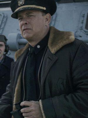 Greyhound Commander Ernest Krause Jacket