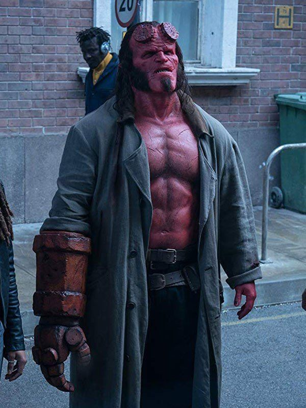 Hellboy David Harbour Trench Coat