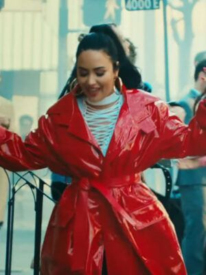 Demi Lovato I love me Coat