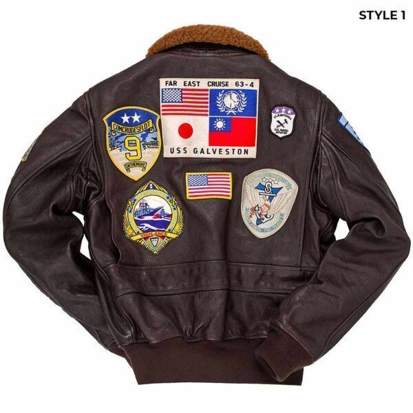 Top GunLeather Jacket