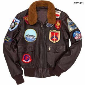 Top Gun Leather Jacket
