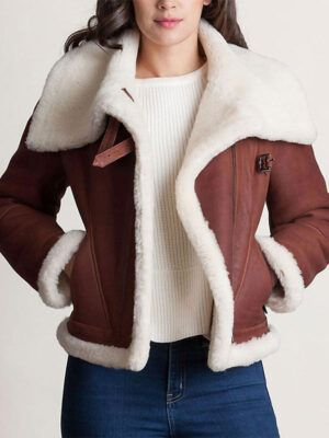 Womens Sheepskin Jacket