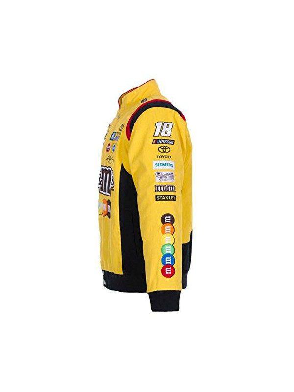 kyle-busch-yellow-cotton-jacket