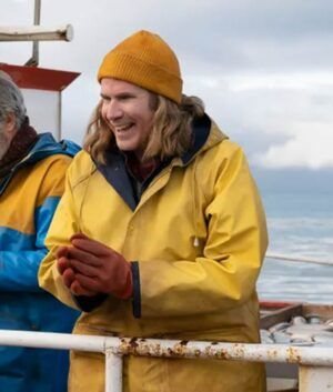 Will Ferrell Saga Lars Erickssong Hooded Coat