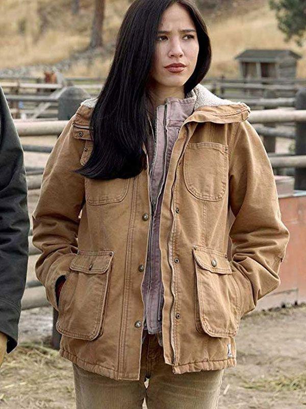 Yellowstone S02 Monica Dutton Jacket