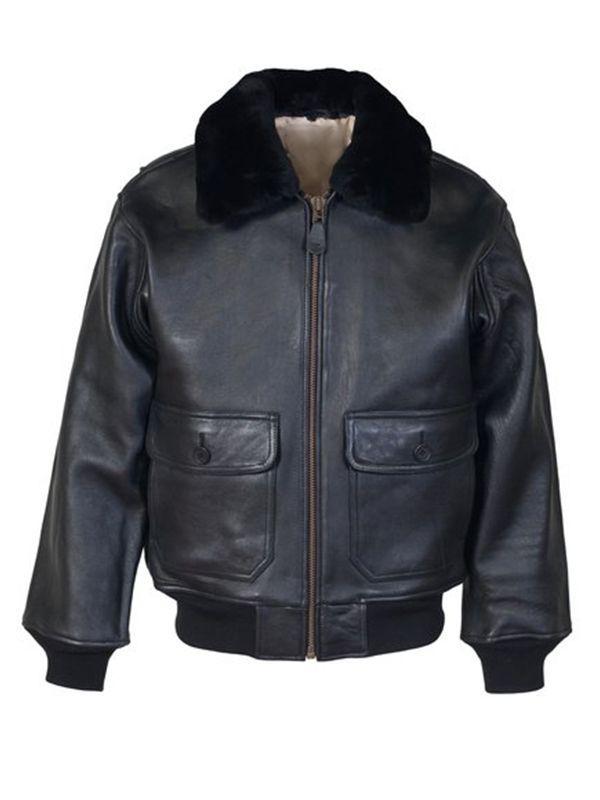 Coffmen Brown Leather Jacket