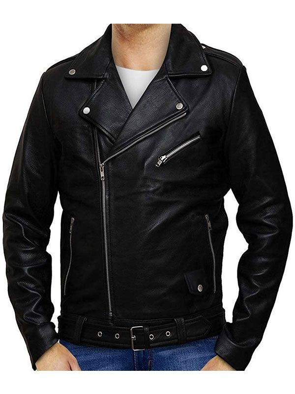 Riverdale Men's Black Leather Southside Serpents Jacket