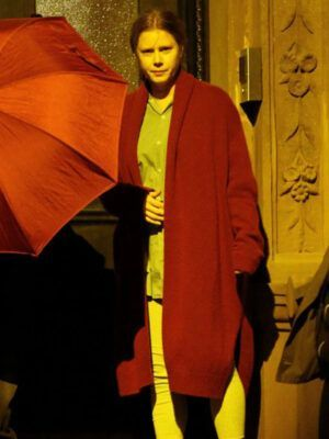 The Woman in the Window Red Coat