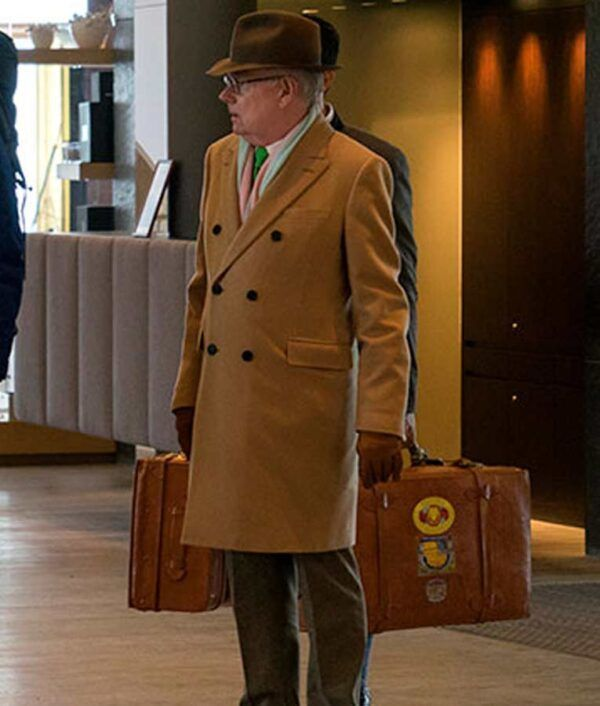 Camel Jack Whitehall Travels With My Father Michael Whitehall Coat