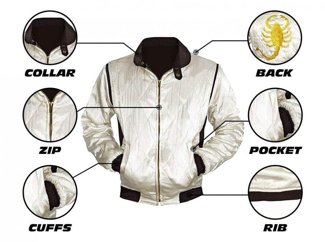 Scorpion Drive Satin Jacket