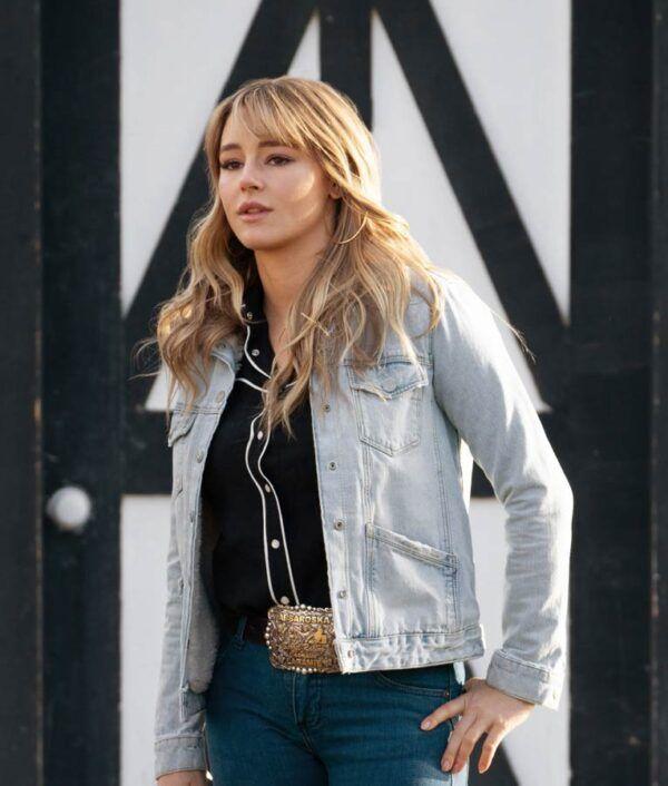 Yellowstone S03 Nicole Duke Denim Jacket