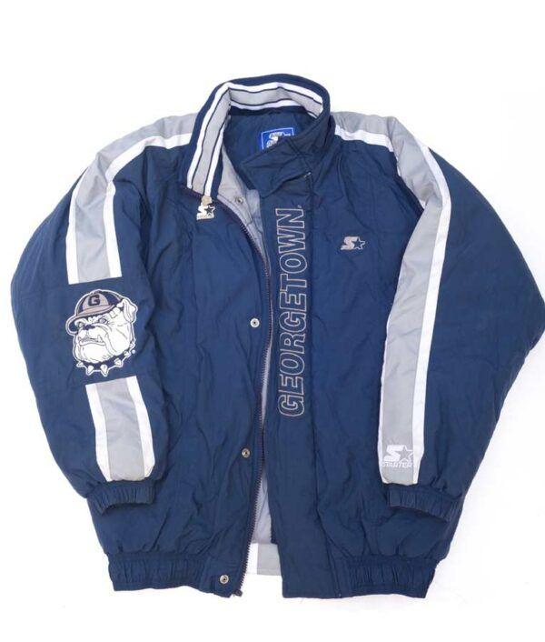 Georgetown Starter Bomber Jacket