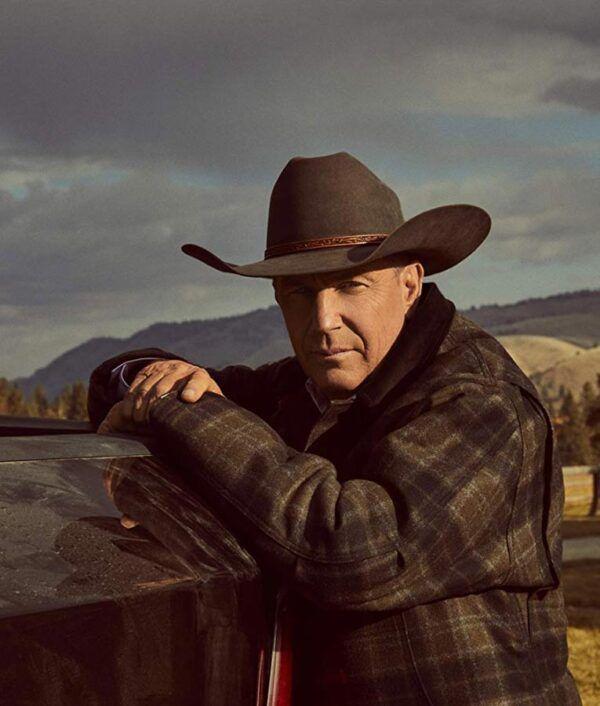 Yellowstone Kevin Plaid Jacket