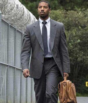 Just Mercy Michael B. Jordan Suit