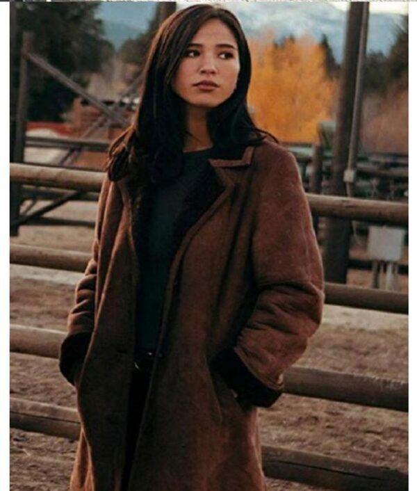 Monica Dutton Shearling Coat