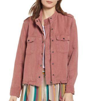 Megan Garner Military Jacket