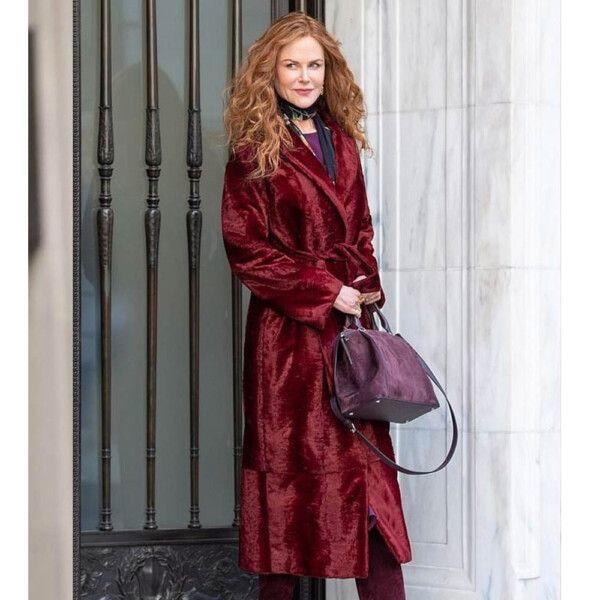 The Undoing Velvet Coat