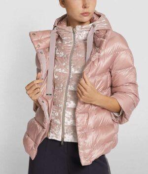 Light Pink Puffer Jacket