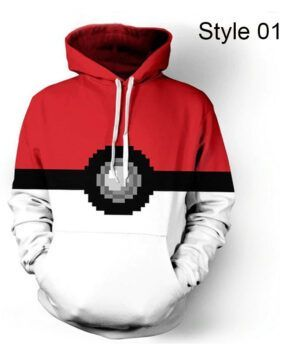 Pokemon Go Pokeball Hoodie