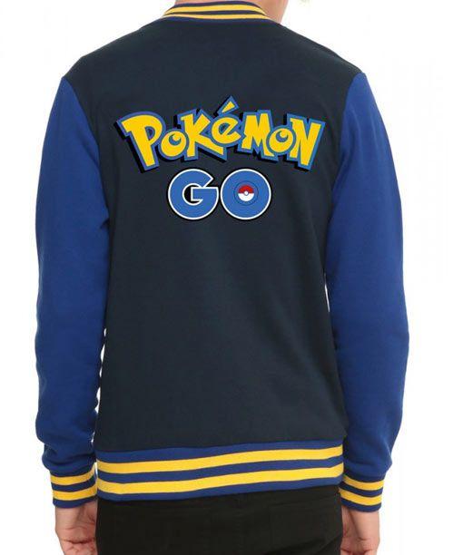 Pokemon Go Trainer Letterman Jacket