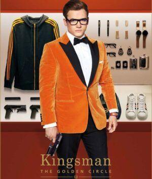 Eggsy Orange Tuxedo