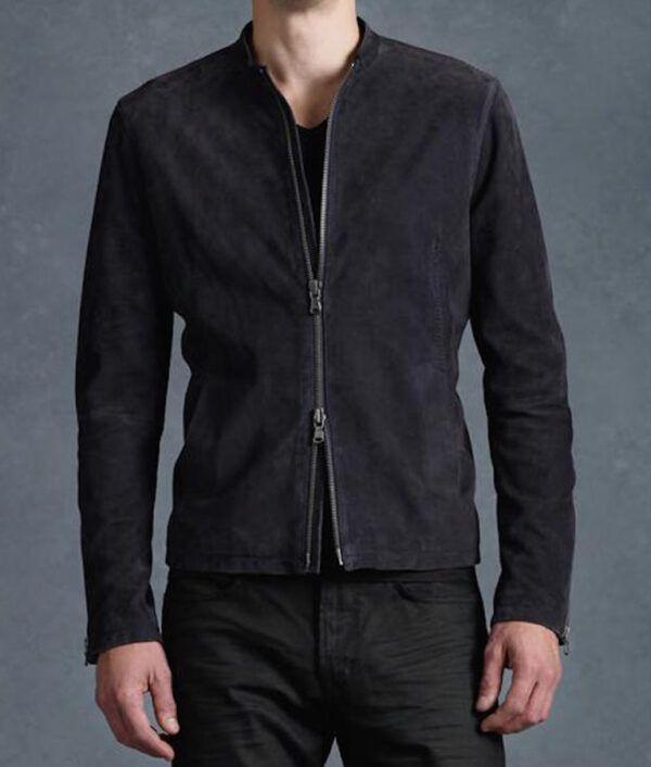 James Bond Black Suede Jacket