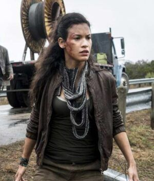 The Walking Dead S04 Danay Garcia Jacket