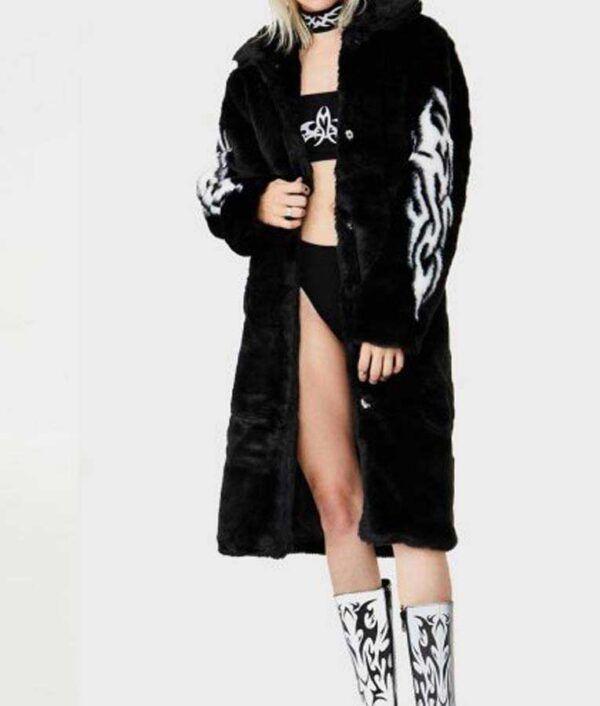 Fallen Angel Fur Coat