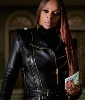 Power Book II Ghost Mary J. Blige Leather Jacket