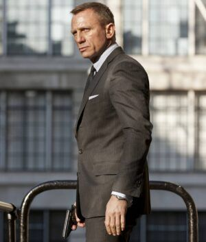 James Bond Skyfall Charcoal Suit