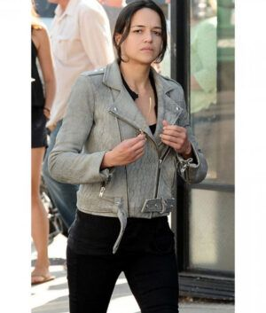Fast And Furious 7 Letty Ortiz Biker Jacket