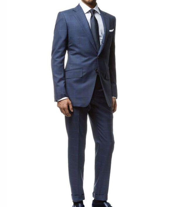 James Bond Spectre Windowpane Suit