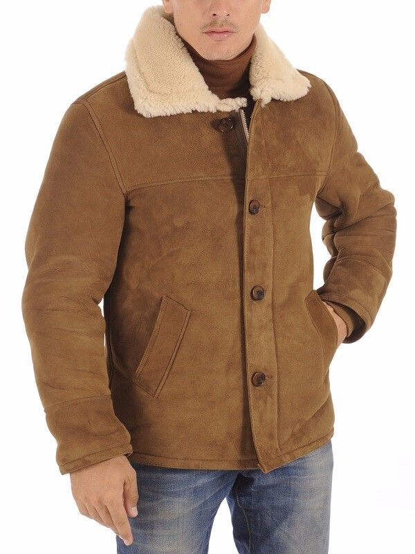 Men Suede Jacket