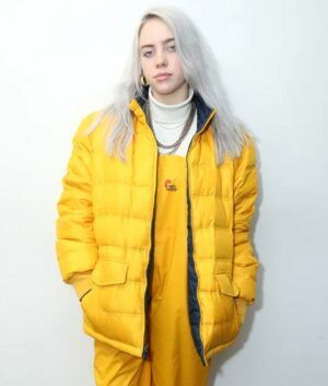 Billie Eilish Yellow Jacket