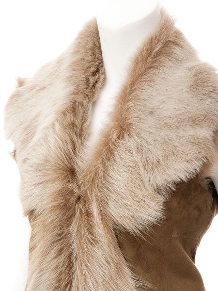 Womens Beaver Vest