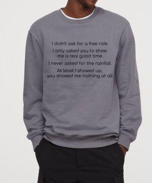 Your Songs Sweatshirt
