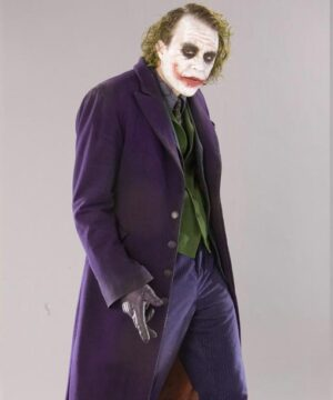 Joker The Dark Knight Purple Coat