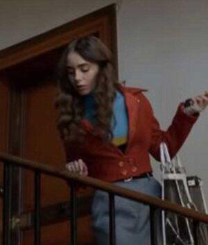 Emily Cooper Brown Jacket