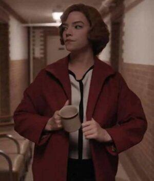 The Queens Gambit Beth Harmon Red Coat