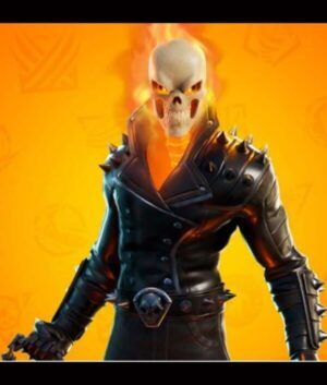 Fortnite Chapter 2 S04 Ghost Rider Cup Jacket