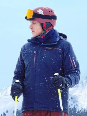 Downhill Blue Jacket