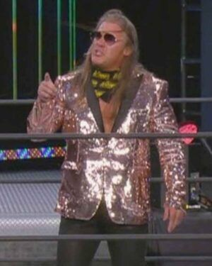 AEW Chris Jericho Sequins Blazer