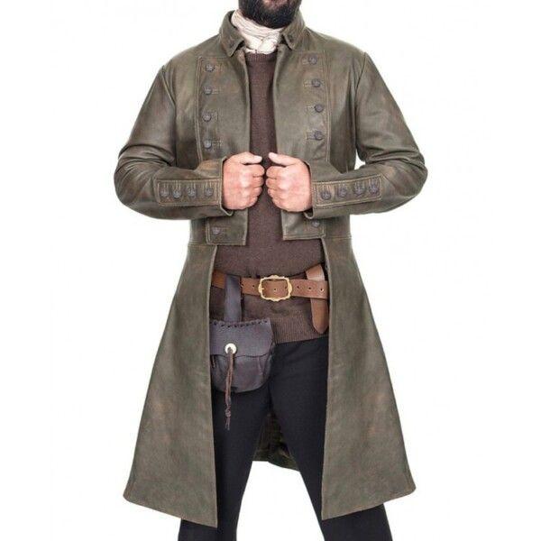 Jamie Fraser Leather Coat