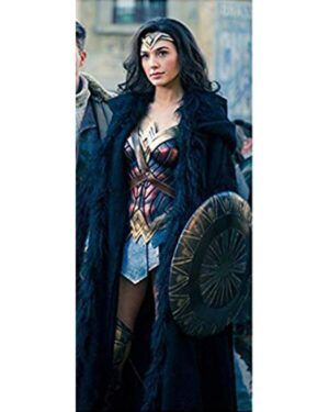 Wonder Woman Shearling Coat