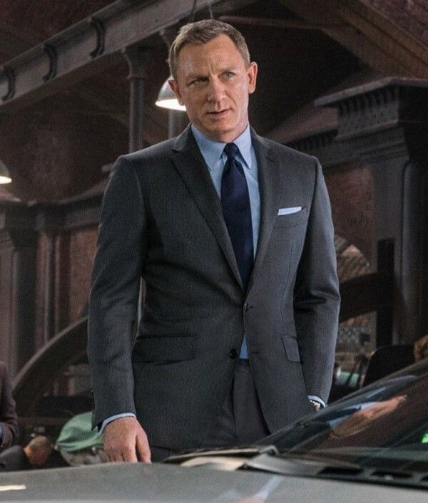James Bond Spectre Grey Suit