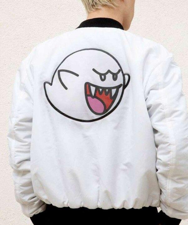 Super Mario Boo Jacket