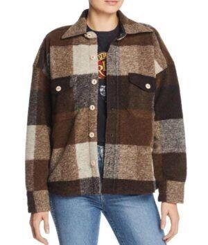 Holidate Sloane Plaid Jacket
