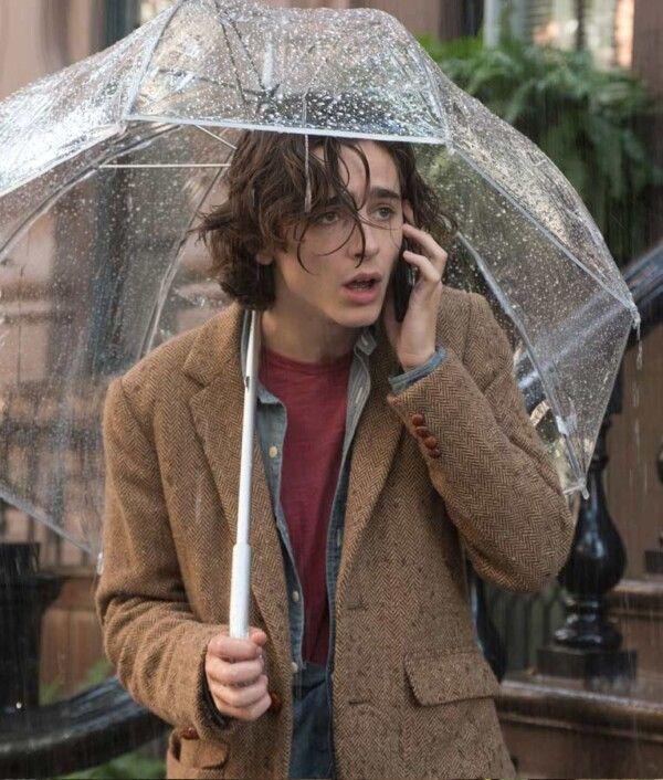 A Rainy Day in New York Blazer