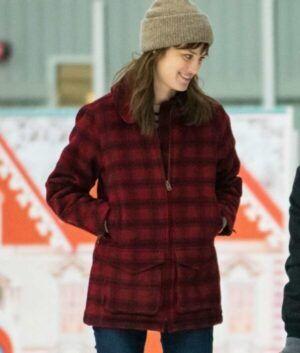 Happiest Season Plaid Coat
